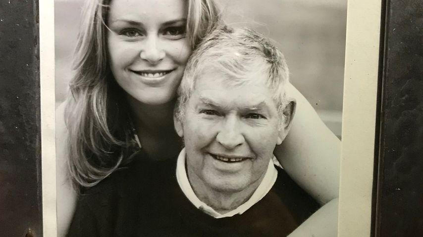 Lindsey Vonn mit ihrem Opa Don Kildow