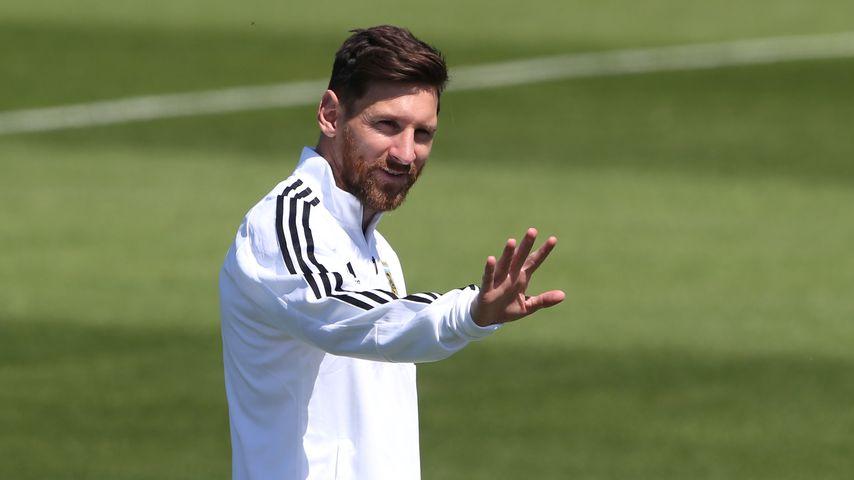 Lionel Messi während der Fußballweltmeisterschaft 2018