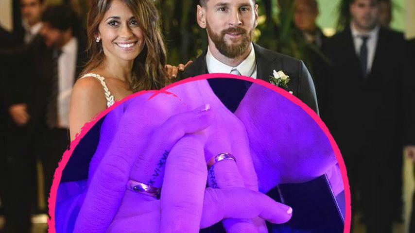 Romantisch: Lionel Messi & Antonella haben Ehe-Tattoos!