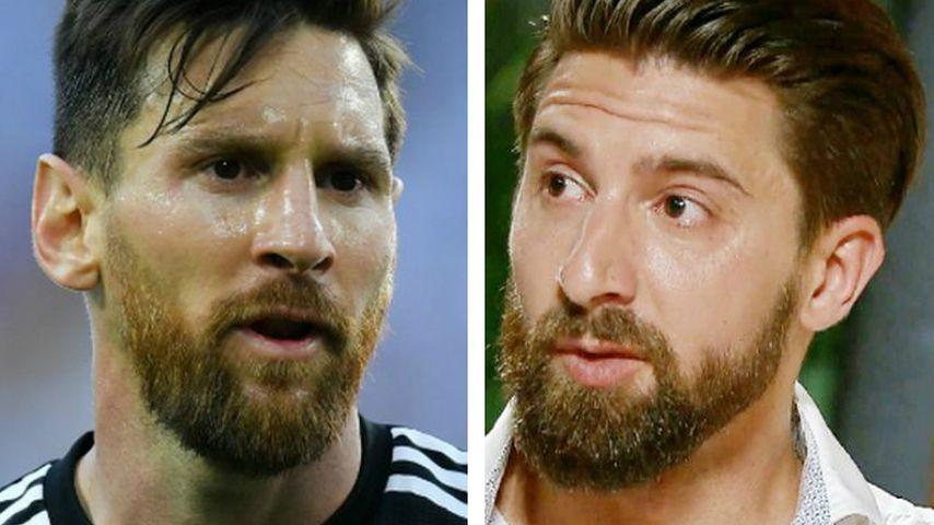 Collage: Lionel Messi und Sebastian Fobe