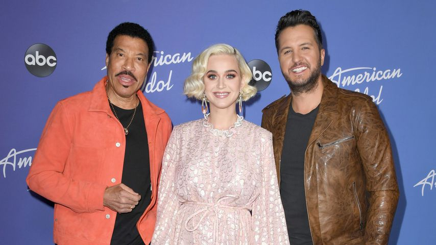 Was macht Katy Perry denn da?