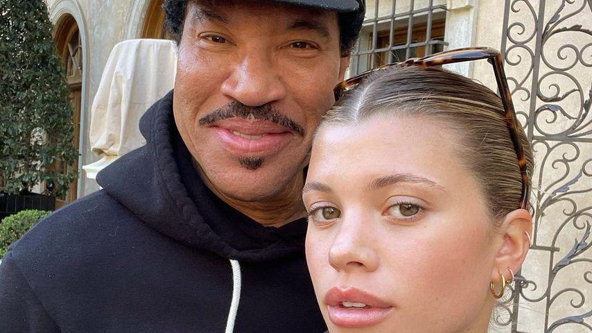 Lionel Richie und seine Tochter Sofia, 2021