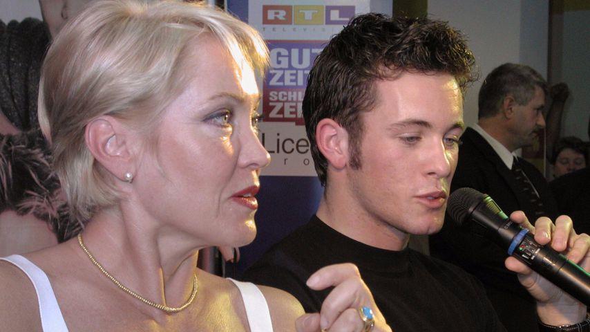 Lisa Rieken und Jan Hartmann bei einer Autogrammstunde für GZSZ