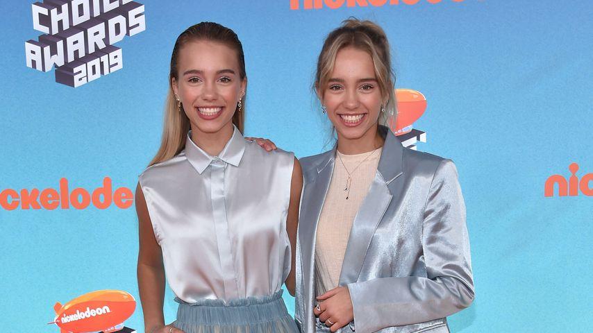 Lisa und Lena bei den Nickelodeon Kids' Choice Awards 2019