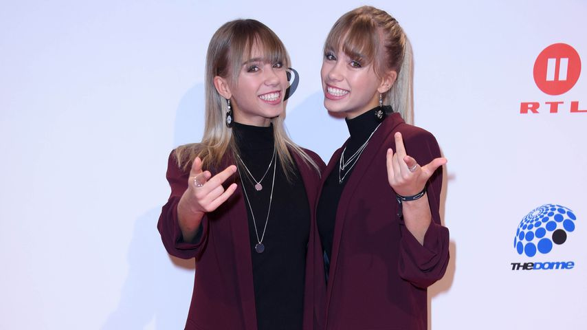 "Lisa und Lena bei ""The Dome"""
