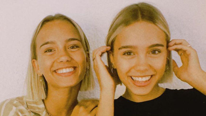 Lisa und Lena, Mai 2020
