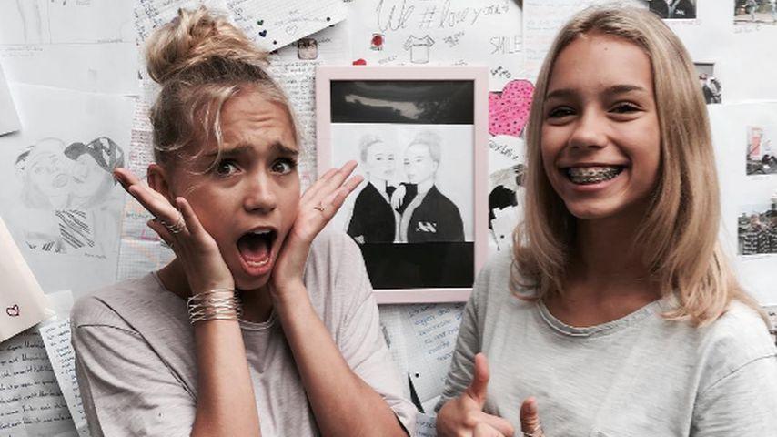 Hunderte Fans: So finden Lisa & Lena lange Autogrammstunden!