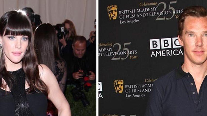 Liv Tyler: Verliebt in Sherlock-Star Cumberbatch?