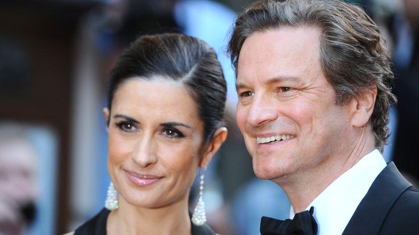Livia und Colin Firth im September 2014