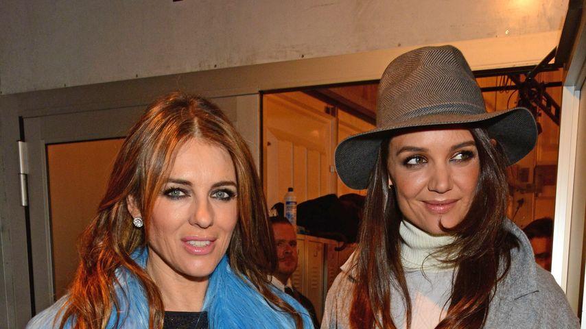 Katie Holmes und Liz Hurley