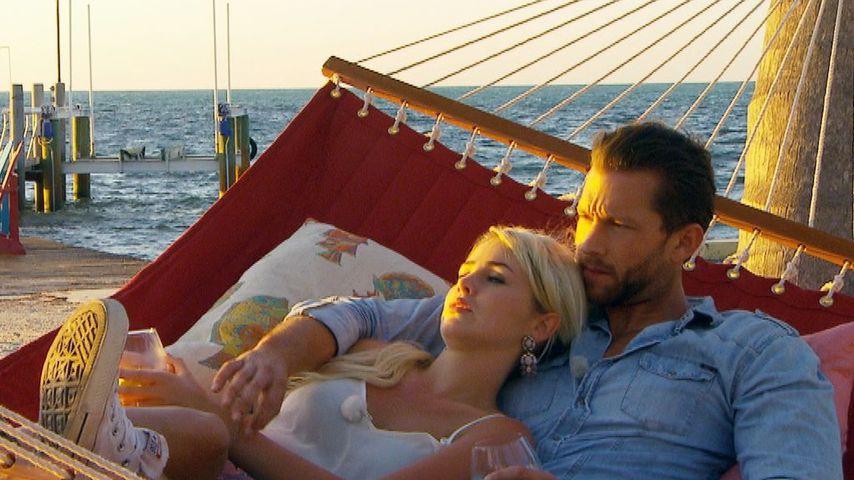 """Liz Kaeber und Oliver Sanne 2015 bei """"Der Bachelor"""""""