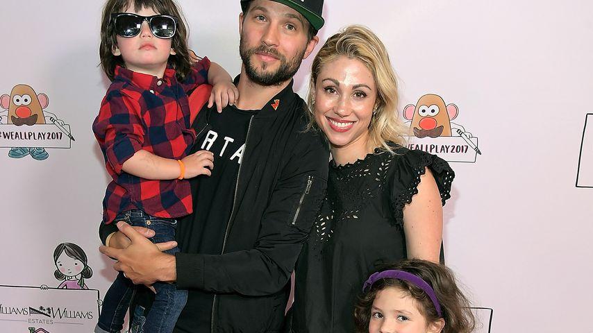 Logan Marshall-Green und Diane Marshall-Green mit ihren Kindern Tennessee und Culla Mae