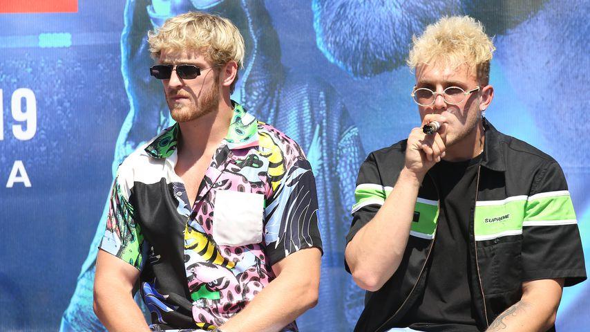 Logan Paul und Jake Paul im September 2019 in Los Angeles