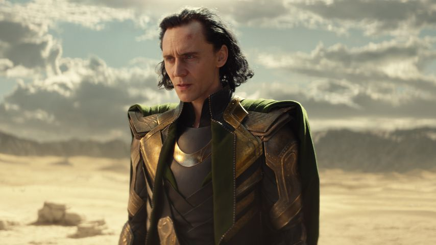 "Loki (Tom Hiddleston) in der Marvel-Serie ""Loki"""