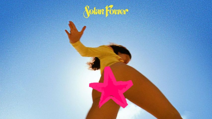 """Das Albumcover zu """"Solar Power"""" von Lorde"""