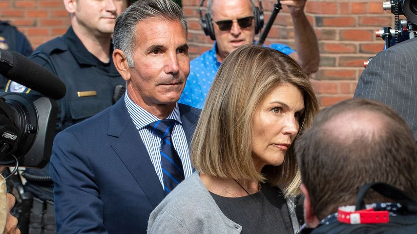 Lori Loughlin mit Ehemann Mossimo Giannulli in Boston
