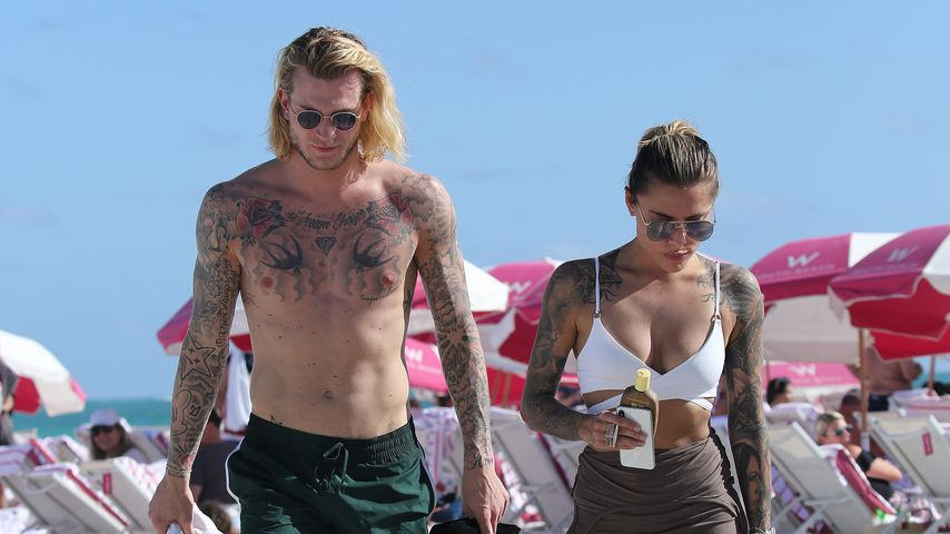 Loris Karius und Sophia Thomalla in Miami