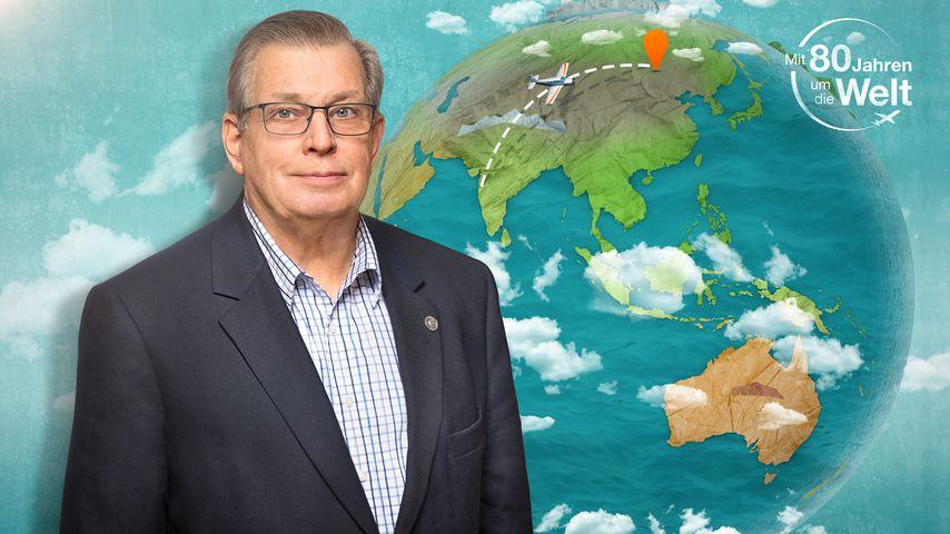 """""""Mit 80 Tagen um die Welt""""-Kandidat Lothar"""