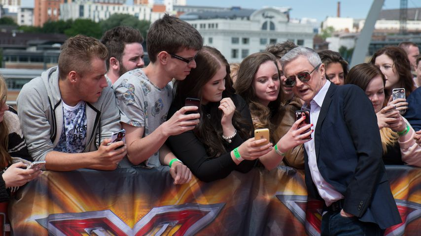 "Louis Walsh beim ""X Factor""-Casting 2014 in Newcastle"