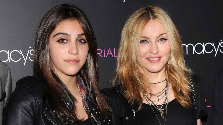 Lourdes Leon mit ihrer Mutter Madonna