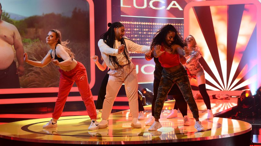 "Luca im ""The Biggest Loser""-Finale"
