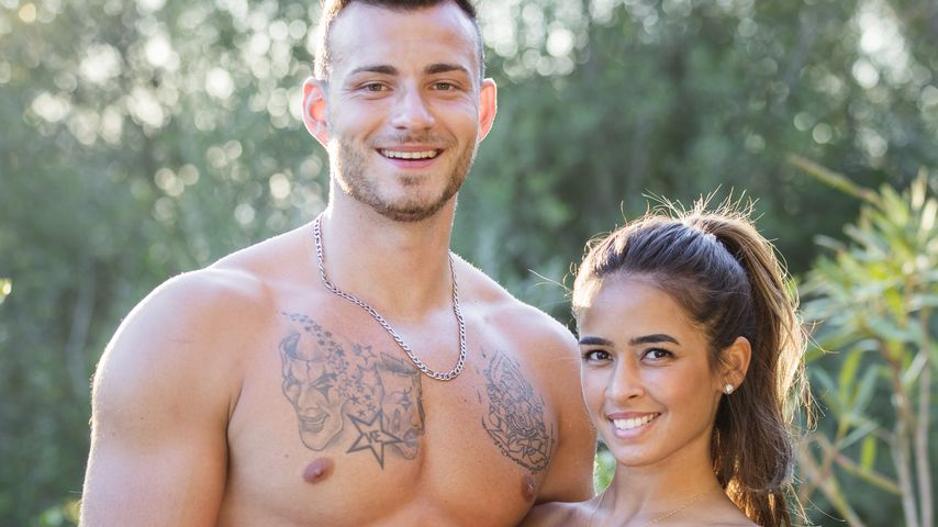 """Luca und Nathalia bei """"Love Island"""""""