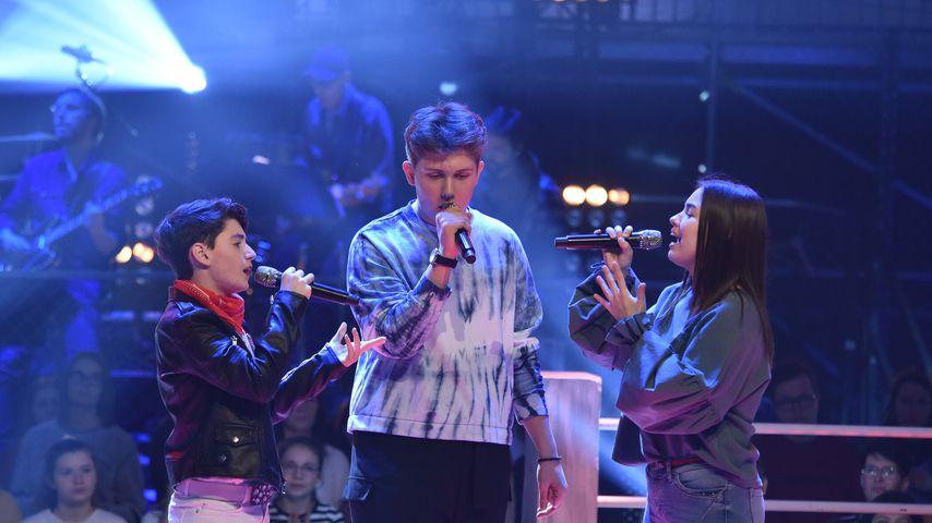 """Luca, Vladi und Rrezarta bei """"The Voice Kids"""""""