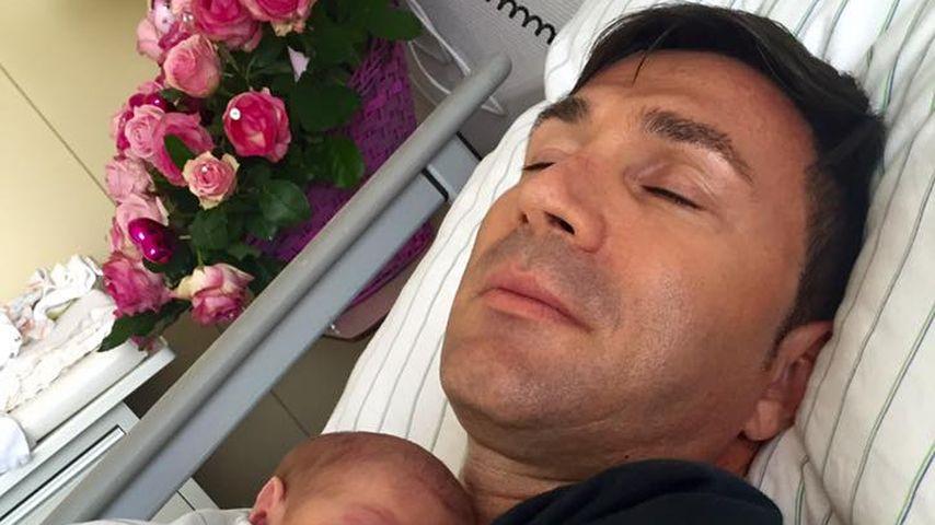 Kurz nach Geburt: Dani Katzenberger teilt frühes Sophia-Pic