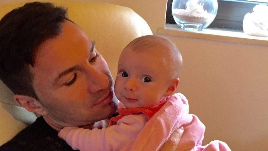 Lucas Cordalis mit Töchterchen Sophia