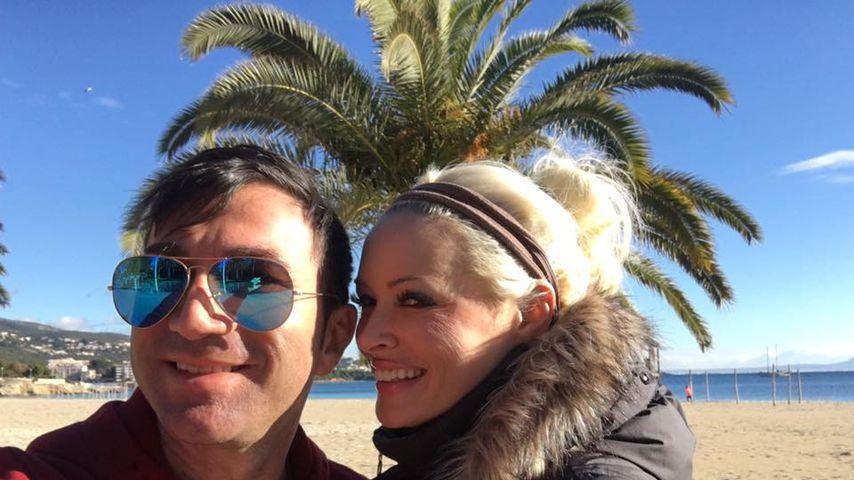 Lucas Cordalis und Daniela Katzenberger auf Mallorca