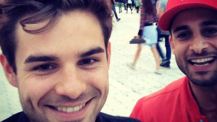 "Lucas Reiber und Karim Günes auf dem ""Lollapalooza""-Festival 2017"