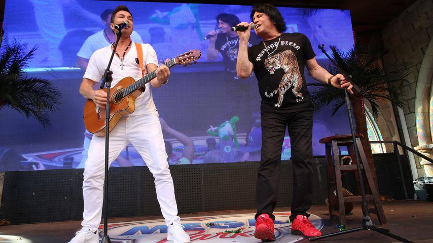 Lucas und Costa Cordalis im Mai 2018