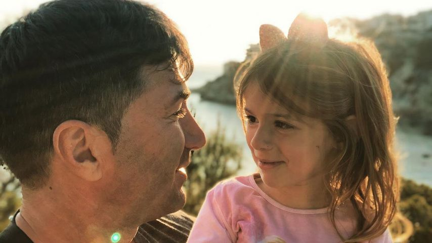 Sophia & Lucas Cordalis: Zuckersüßer Papa-Tochter-Moment