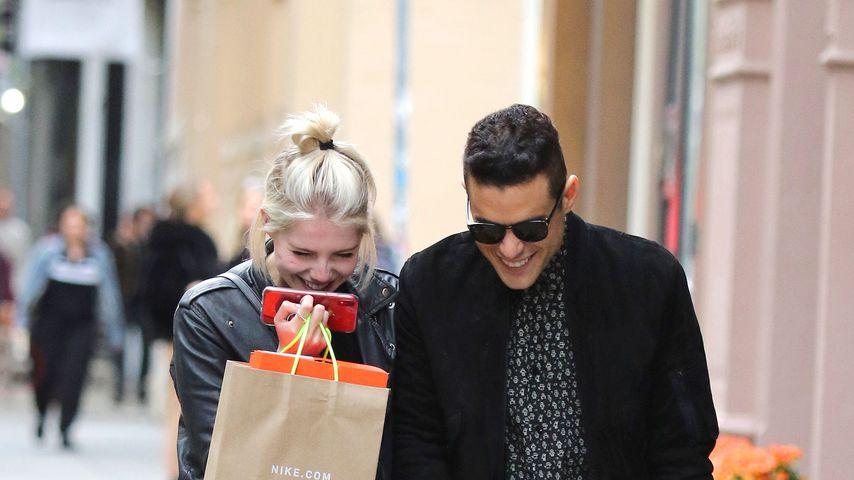Lucy Boynton und ihr Freund Rami Malek, April 2019