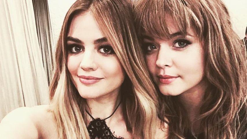 """Lucy Hale und Sasha Pieterse, Ex-""""Pretty Little Liars""""-Kolleginnen"""