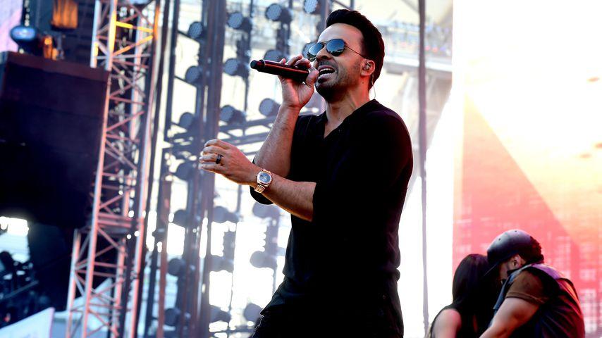 Luis Fonsi bei einem Auftritt