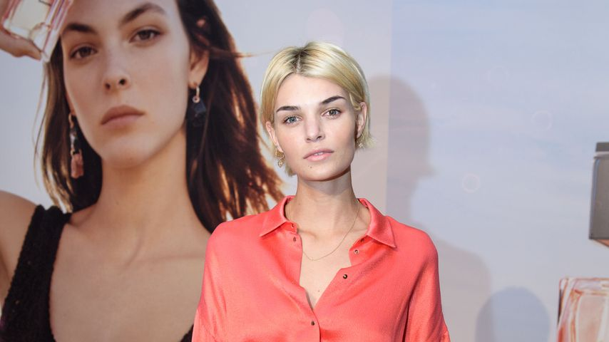 Topmodel Luisa beim 1. großen Fashion-Shooting!