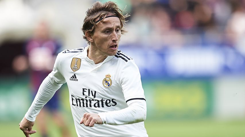Luka Modrić, Mittelfeldspieler bei Real Madrid