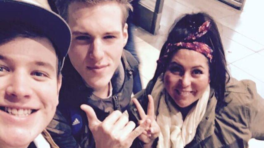 Lukas Otte, Mitchl und Janina El Arguioui im März 2018 in Südafrika