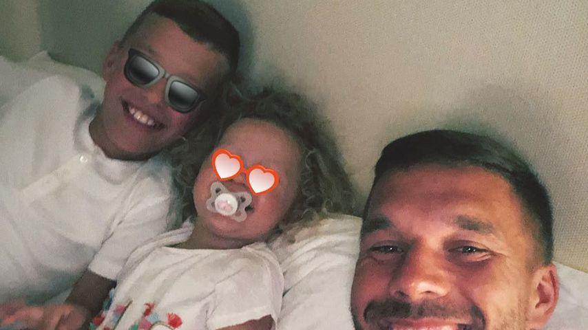 Glücklicher Papa: Lukas Podolskis süße Worte an seine Kids