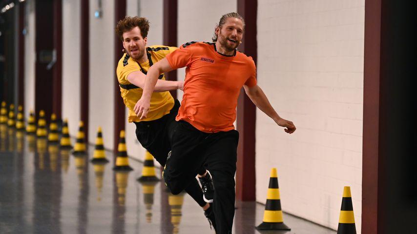 "Luke Mockridge und Sebastian Ströbel bei ""Catch!"""
