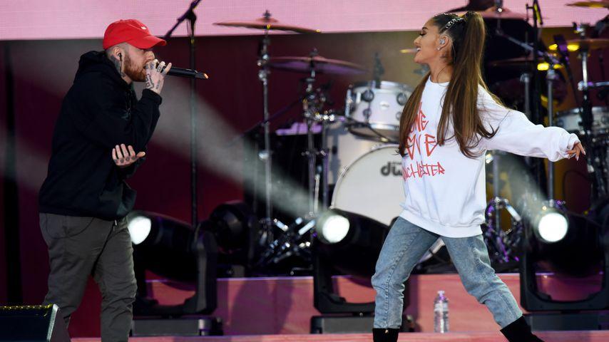 """Mac Miller und Ariana Grande beim Benefizkonzert """"One Love Manchester"""""""