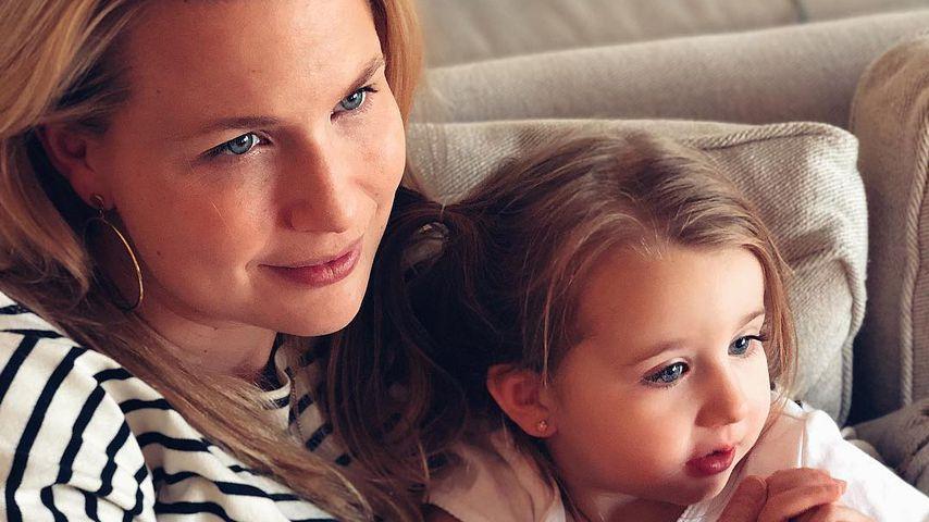 Macklemores Frau Tricia mit ihrer gemeinsamen Tochter Sloane