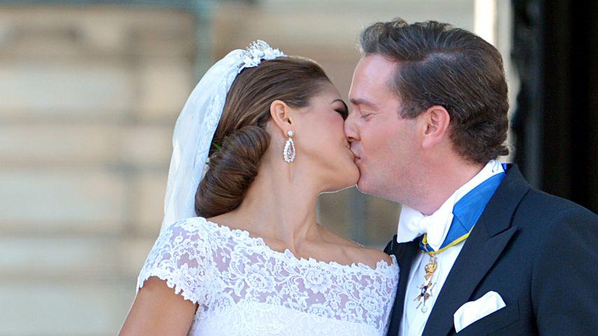 Prinzessin Madeleine & Chris O'Neill feiern 3. Hochzeitstag!