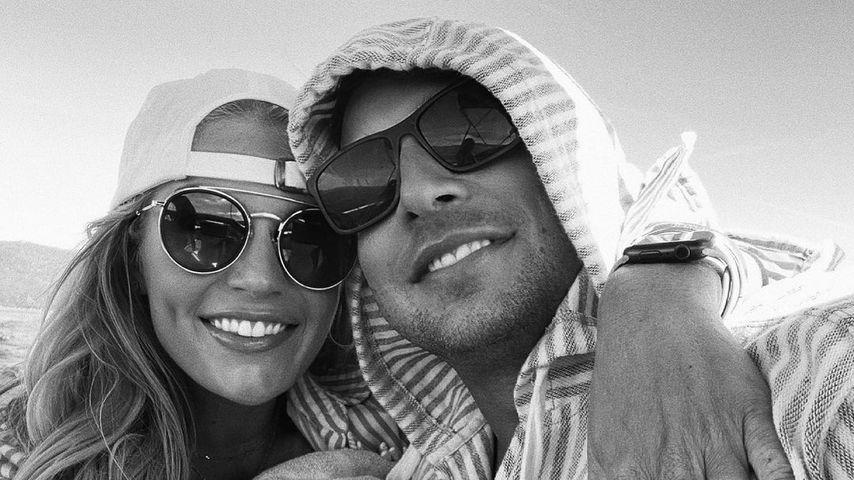 Madison LeCroy mit ihrem Verlobten Brett