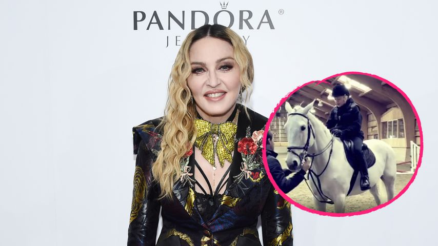 15 Jahre nach Reitunfall: Madonna sitzt wieder im Sattel
