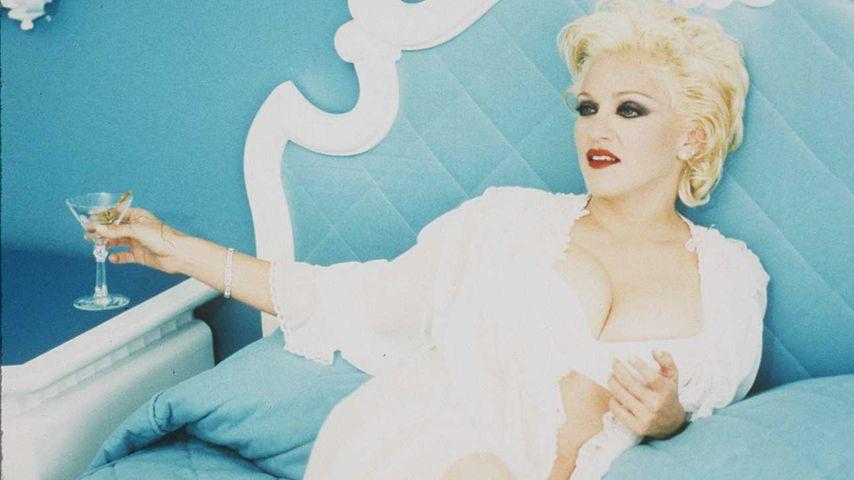 """Madonnas Albumkampagne zu """"Bedtime Stories"""""""