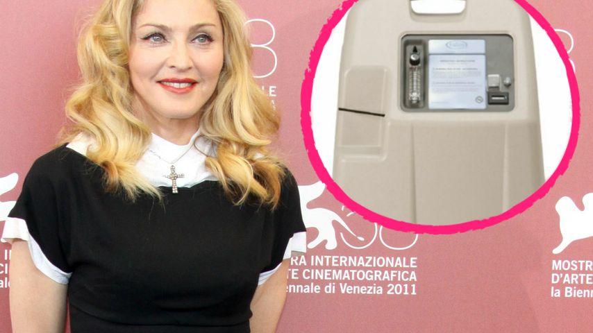 Jung auf Knopfdruck: Madonna schwört auf Sauerstofftherapie
