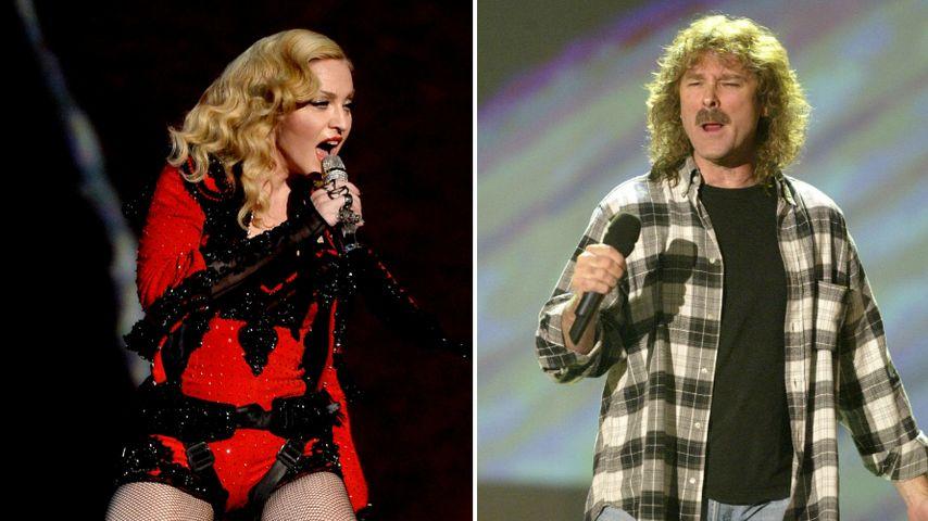 Chart-Spitze: Madonna verdrängt Wolfgang Petry!