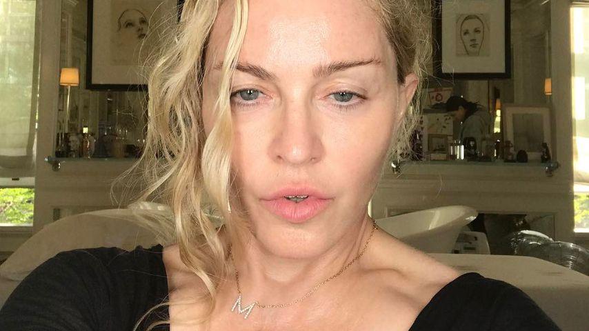 Ups! So sieht Madonna noch kurz vor der großen Met Gala aus